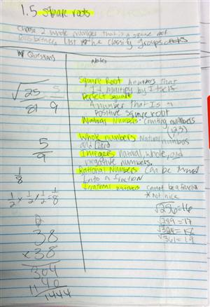 Sample Cornell Note. Geometry Cornell Note Sample Cornell Note