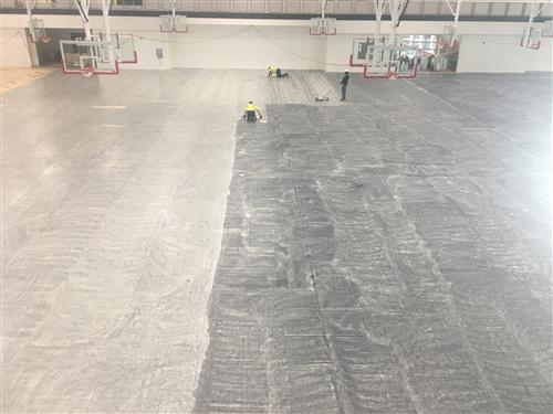 Fieldhouse floor