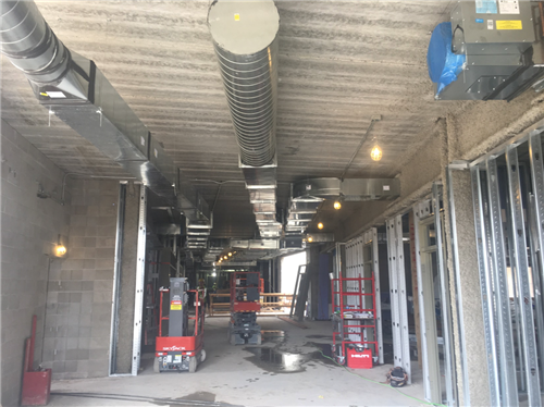 Interior Duct Work