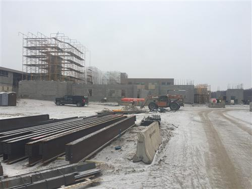 West View of New South Classrooms
