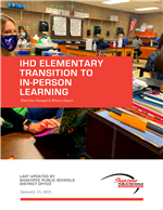 Elementary IHD In-Person Learning