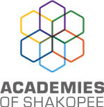 Academies of Shakopee Logo Colored Stacked