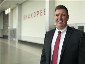 Dr. Mike Redmond is the superintendent for Shakopee Public Schools.
