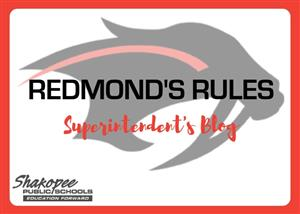 Redmond's Rules Graphic